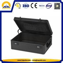 Aluminium noir ordinateur portable affaire mallette (HL-8005)