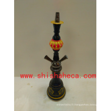 Blues Design Fashion haute qualité Nargile Pipe Shisha Narguilé