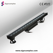 China Luz impermeable al aire libre del Wallwasher de la lente RGB 3in1 IP65 LED