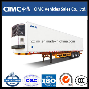 Cimc 3 Axles Refrigerated Semi Trailer