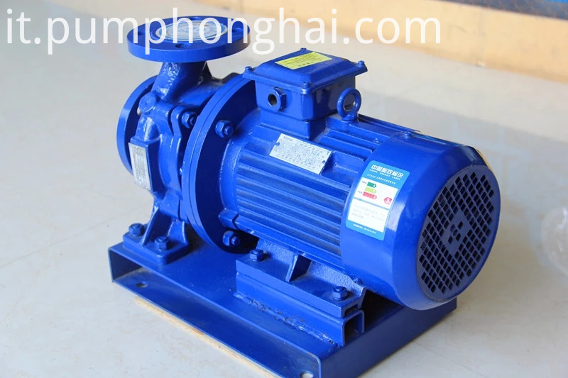 Industrial Electric Motor Centrifugal Water Pump 3