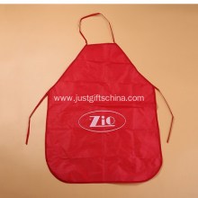 Printed Promotional Polyester Aprons at Low MOQ
