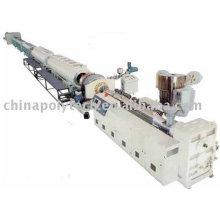 Proporcionar el suministro de agua de polietileno de alta densidad y línea de extrusión de tubo de suministro de gas