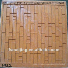 Moulding plastic for glass mosaic