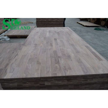 American Walnut Finger Joint Board for Furniture (Vertical)