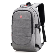 USB charge port travel men's fashion backpack