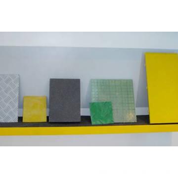 Reforzado con fibra de vidrio colorido rejilla plástico