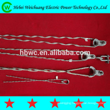 high quality adss/opgw clamp preformed guy grip dead end-tension clamp
