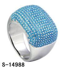 Neue Design Modeschmuck 925 Sterling Silber Ring mit Türkis