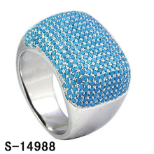New Design Fashion Jewelry 925 Sterling Silver Ring with Turquoise