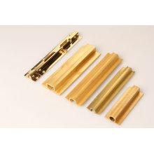 Profils de cuivre dans le profil de la meilleure qualité / industrie dans les tubes en pvc / profil creux