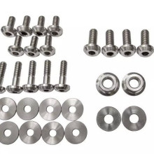 Bicycle and motor-bike used DIN963 titanium spring washer