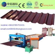 alta velocidad de acero del azulejo que forma la máquina