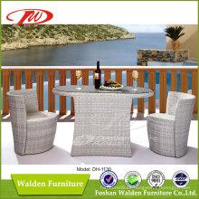 Tabla y silla al aire libre del ratán (DH-1130)