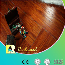 12.3mm Embossed Elm Waxed Edged V-Grooved Lamiante Flooring