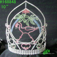 La corona del desfile de verano Princesa Tiara nueva corona del desfile