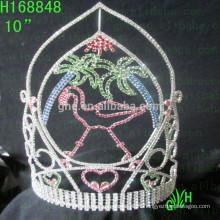 Courant d'été Page Couronnes Princesse Tiara nouvelle couronne de concours