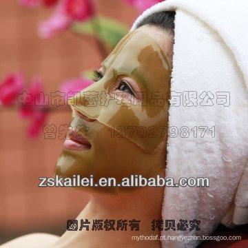 Desintoxicação do chá verde dos cuidados com a pele do PBF que Whitening a máscara protectora do colagénio do chá verde