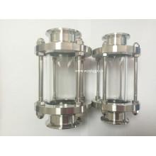 Vidro Sight Sanitário de Aço Inoxidável