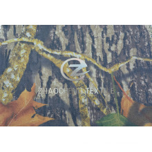 100% 2/1 Twill Cotton Fabric with Forest Camouflage (ZCBP255)