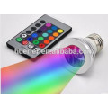 Modern style rgb led spotlight LED RGB Spotlight with Remote Controller