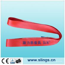 Eslinga de cincha roja de 5 t * 150 mm