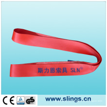 5t*150mm Red Webbing Sling