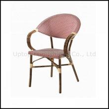 Cafetería al aire libre Rattan French Bistro Arm Chair (sp-oc524)