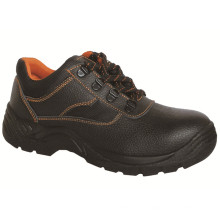 Ufa018 Genuine Leather Safety Footwear PU Injection Industrial Safety Shoes