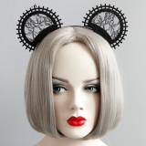 MYLOVE MLFG70 women round cat ear hair accessory party headband