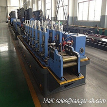 Welded pipe roll forming machine making line