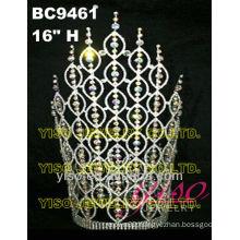 colored rhinestone crowns