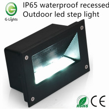 IP65 waterproof recessed outdoor led step light