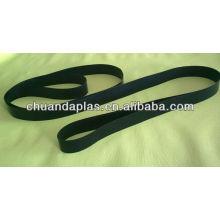 Cinturón de transmisión de fibra de vidrio recubierta de ptfe antiadherente