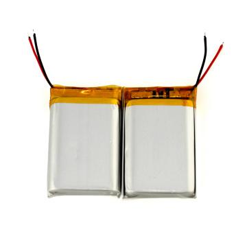 batteria Li-polimeri ricaricabili da 3.7V lipo