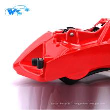 Bonne performance En Aluminium Forgé Léger Forte 6 pistons Étrier De Frein WTGT6 kit de frein pour corolla / Chevrolet