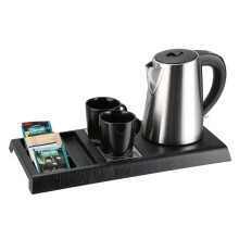 electric coffee tray set for hotel guest room