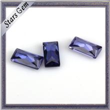 Wuzhou Factory Price for Rectangle Shape CZ Stone
