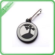 Keychain de porte-clés de zinc-alliage de promotion dans la chaîne principale en métal pour le cadeau