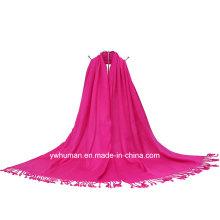 Mode Pashmina Solide lange Schal mit 20 Farben für Lady