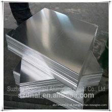 Folha de alumínio 6082 Fabricante T6