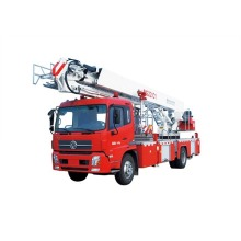 Camión de bomberos de la plataforma aérea del nuevo modelo de los 22m