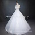 2016 top vente blanc couleur sol longueur bal robe sexy robe de mariage costume