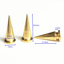 Metal Tree Spikes Conical Shaped Top