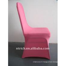 housse de chaise en spandex rose / rose vif, CTS683, pour toutes les chaises