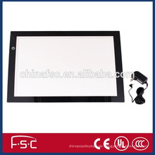 DC12V Acrylplatte A4 led Licht-Tracing Schreibtafel