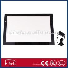 DC12V acrylic panel A4 led light tracing writing board