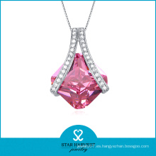 Mayorista de joyas de cristal de piedras preciosas grandes (SH-N0106)