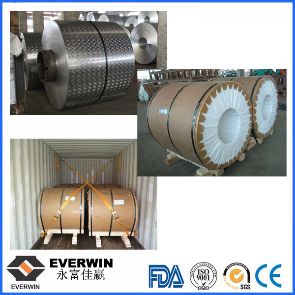 five bar aluminum coil package