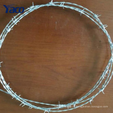 fil de fer barbelé en alliage d'aluminium, clôture de ferme de barbelés, fabricants de fil de fer barbelé Chine